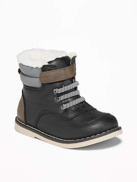 Old Navy Sherpa-Lined Hiking Boots for Toddler Boys