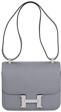 One Kings Lane Vintage Hermès 24cm Gris Mouette Constance Bag