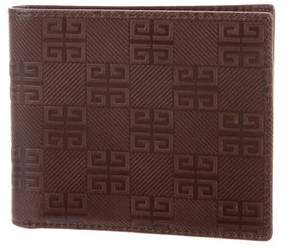Givenchy Embossed Bifold Wallet