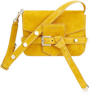 Jimmy Choo LEXIE/S Saffron Suede Cross Body Bag