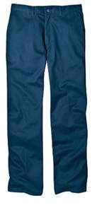 Dickies Men's Relaxed Fit Cotton Flat Front Pant 32 Inseam.