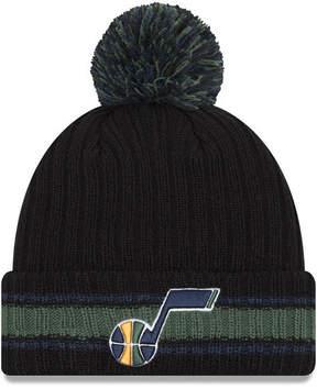 New Era Utah Jazz Basic Chunky Pom Knit Hat