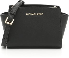 MICHAEL Michael Kors Mini Selma Bag - BLACK NERO - STYLE