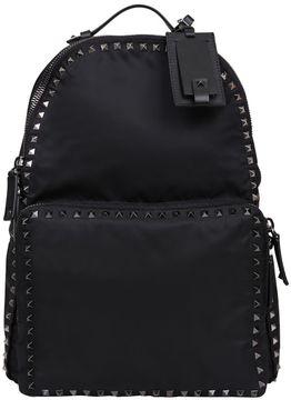 Valentino Rockstud Nylon Backpack