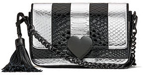Victoria's Secret Victorias Secret Luxe Python Stripe Downtown Crossbody
