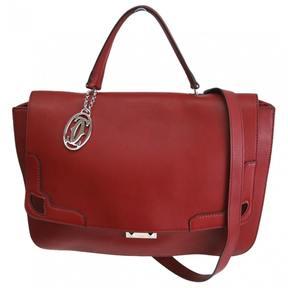 Cartier Marcello leather handbag