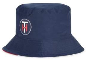 Tommy Hilfiger Mens Regatta Bucket Hat Blue One Size