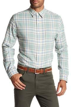 Faherty BRAND Seaview Plaid Trim Fit Shirt