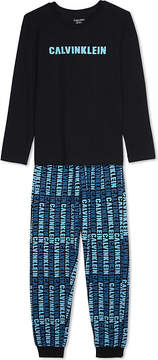 Calvin Klein Logo print pyjamas set 4-16 years