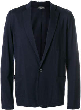 Roberto Collina classic straight-fit suit jacket