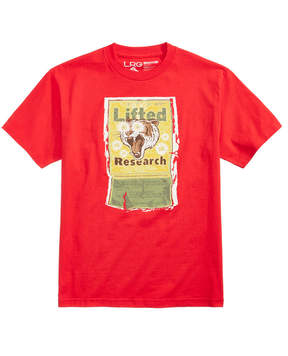 Lrg Men's Animal Kracker Logo-Print T-Shirt