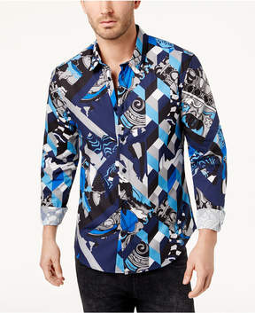 Versace Men's Printed Shirt