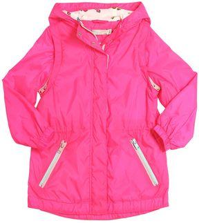 Stella McCartney Hooded Nylon Windbreaker Jacket