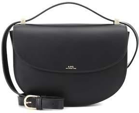 A.P.C. Genève leather shoulder bag