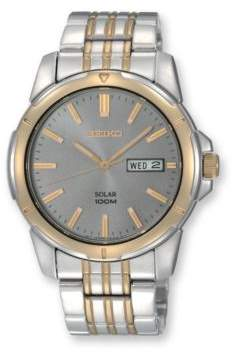 Seiko Mens Two-Tone Stainless Steel Dress Watch
