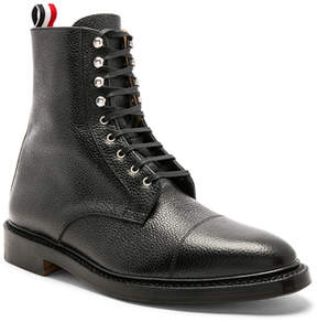 Thom Browne High Leather Derby Boots