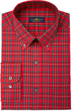 Club Room Men's Estate Classic Fit Print Dress Shirt, Created for Macy's