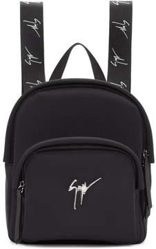 Giuseppe Zanotti Black Mini Backpack