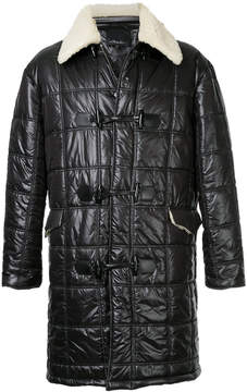 3.1 Phillip Lim faux shearling lined quilted coat