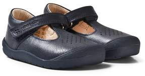 Start Rite Start-rite Navy Leather First Alex Leather First Walkers