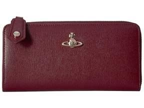 Vivienne Westwood Victoria Zip Wallet