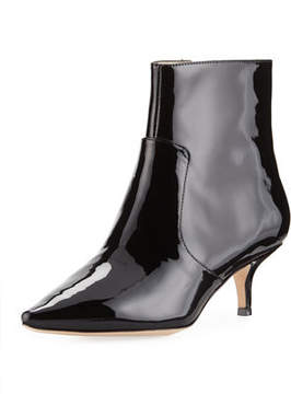 Bettye Muller Astor Patent Leather Bootie