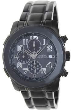 GUESS Men's U18514G1 Black Stainless-Steel Quartz Watch