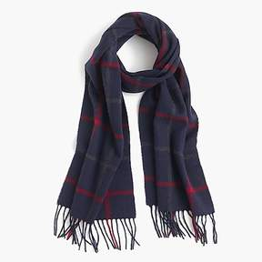 J.Crew Patterned cashmere scarf