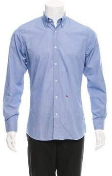 Moschino Woven Button-Down Shirt w/ Tags