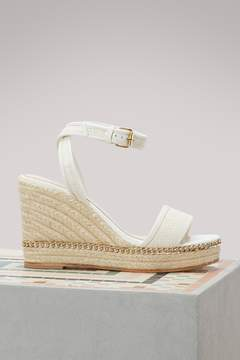 Lanvin Wedge sandales with chain