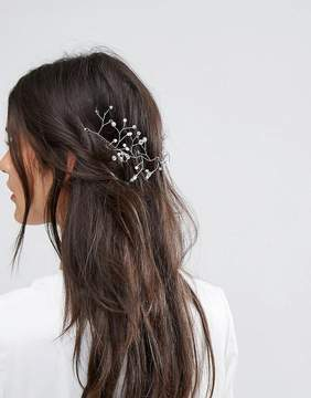 ASOS BRIDAL Bead Back Hair Piece