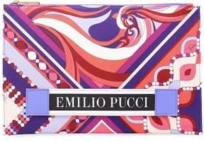 Emilio Pucci Printed pouch