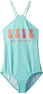 Billabong Kids Sol Searcher One-Piece Girl's Swimsuits One Piece