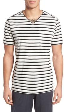 Daniel Buchler Men's Pima Cotton & Modal V-Neck T-Shirt