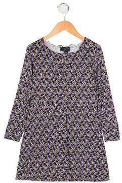Oscar de la Renta Girls' Printed Shift Dress