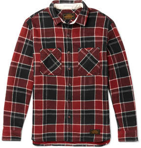 Neighborhood Lumbers Checked Cotton-Flannel Shirt