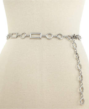 INC International Concepts Rectangles and Circles Chain Belt, Created for Macy's