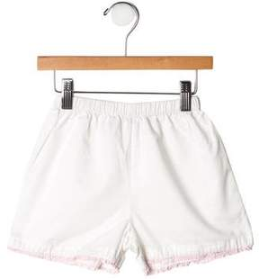 Rachel Riley Girls' Ruffle-Trimmed Shorts
