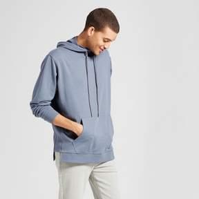 Jackson Men's Long Sleeve Rib Contrast Hoodie Sweatshirt Slate