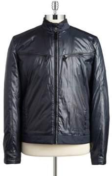 Andrew Marc Water-Resistant Moto Jacket