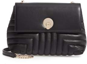 Ted Baker Ssusiee Circle Lock Quilted Leather Crossbody Bag