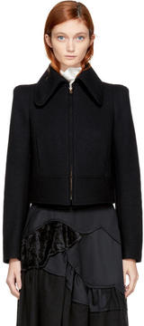 Chloé Black Cropped Zip Jacket