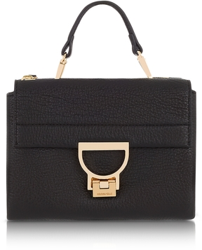 Coccinelle Pebbled Leather Arlettis Mini Bag w/Shoulder Strap