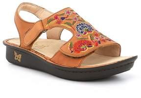 Alegria Viki Hand-Sewn Embroided Needlework Leather Sandals