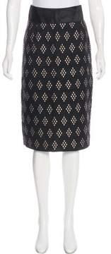Alessandro Dell'Acqua Abstract Print Knee-Length Skirt