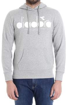 Diadora Men's Grey Cotton Sweatshirt.