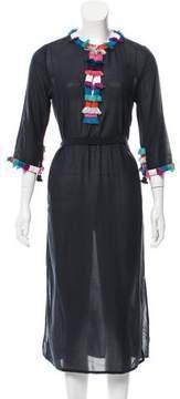 Figue Tassel-Accented Midi Dress