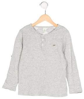 Scotch Shrunk Boys' Crew Neck Three-Quarter Sleeve Shirt