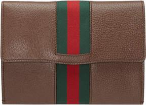Gucci GucciTotem leather Web portfolio - BROWN LEATHER - STYLE
