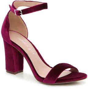 Madden-Girl Women's Bella Velvet Sandal